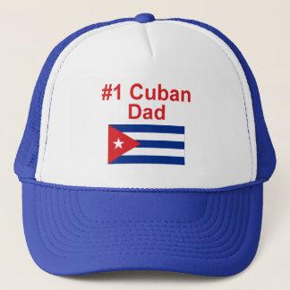 #1 Cuban Dad Trucker Hat