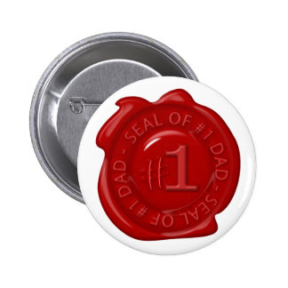 #1 Dad 6 Cm Round Badge