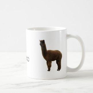 #1 Dad Alpaca Coffee Mug