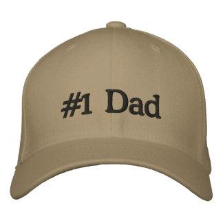#1 Dad Baseball Cap Hat