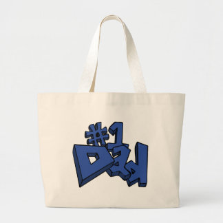 #1 Dad Best Dad Father's Day Tote Bag