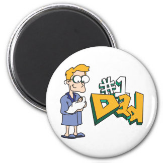 1 Dad Father s Day Gifts Refrigerator Magnets