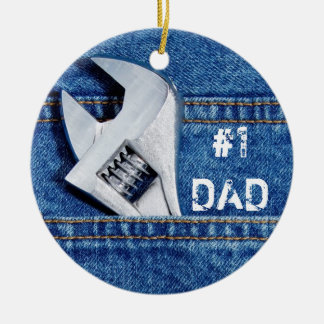 #1 Dad Handyman Ornament