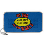 #1 Dad in the World Customise Father's Day