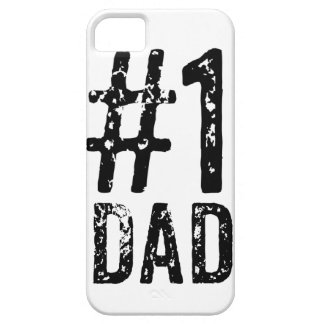 #1 Dad iPhone SE + iPhone 5/5S, Barely There Phone iPhone 5 Cover