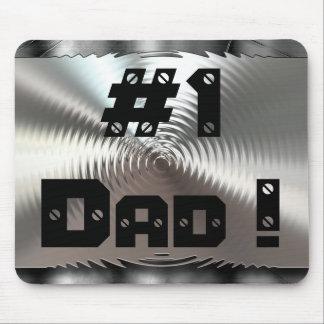 #1 Dad! Metal Mousepad