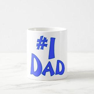 #1 Dad Morphing Mug