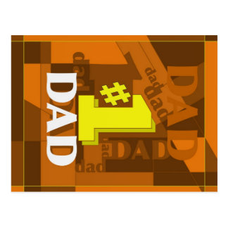 # 1 DAD POSTCARD