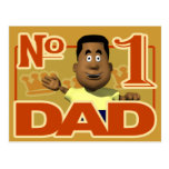 #1 Dad Postcards