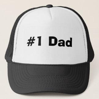 #1 Dad Trucker Hat