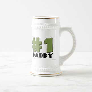 #1 Daddy Beer Steins