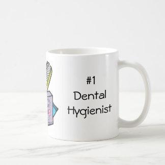 #1 Dental Hygienist Basic White Mug