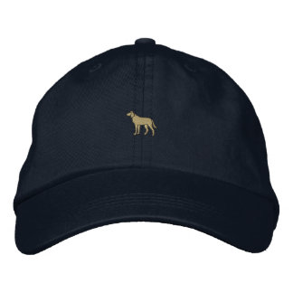 "1"" Dog Embroidered Hats"