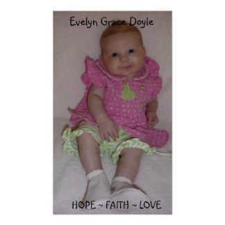 1, Evelyn Grace Doyle Poster