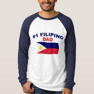 #1 Filipino Dad T Shirts