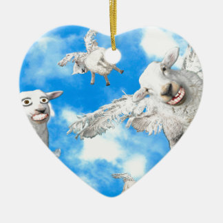 1_FLYING SHEEP CERAMIC HEART DECORATION