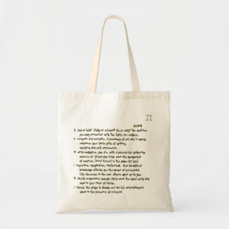 1-Gemini May 21-June 20 tote bag