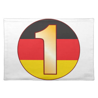 1 GERMANY Gold Placemat