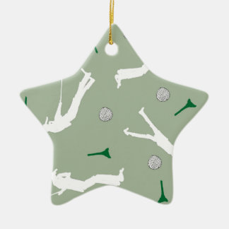 1) Golf Design from Tony Fernandes Ceramic Star Decoration