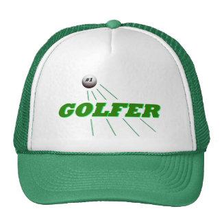 1 Golfer Baseball Cap Mesh Hats