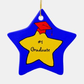 #1 Graduate keepsake ornament