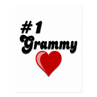 #1 Grammy Grandparent's Day Gifts Postcard