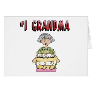 1 Grandma birthday Greeting Cards