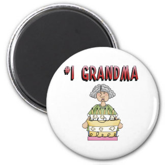 1 Grandma birthday Magnets