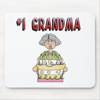 #1 Grandma (birthday) Mouse Pad
