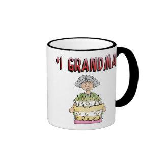 #1 Grandma (birthday) Mugs