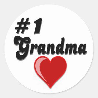 1 Grandma Grandparent s Day Gifts Stickers