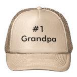 #1 Grandpa Cap