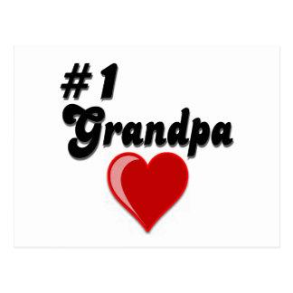 1 Grandpa - Grandparent s Day Post Card
