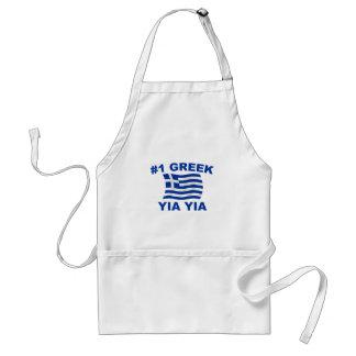 #1 Greek Yia Yia Standard Apron