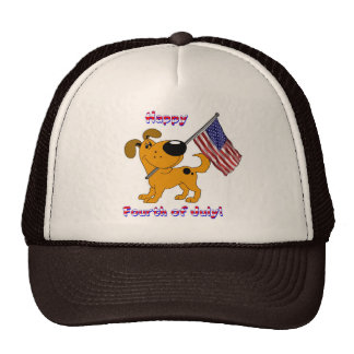 1- Happy Fourth of July! Cap