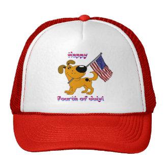 1- Happy Fourth of July! Trucker Hat