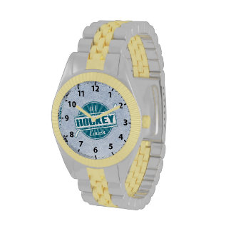 #1 Hockey Coach Wrist Watch, choice of styles
