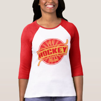 #1 Hockey Mom T-Shirt