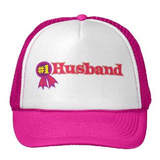 #1 Husband Mesh Hat
