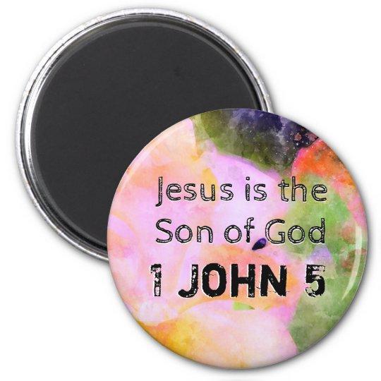 1 John Chapter 5 Magnet