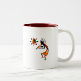 1 Kokopelli #1 Two-Tone Coffee Mug