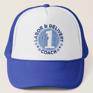 #1 LABOR & DELIVERY COACH TRUCKER HAT