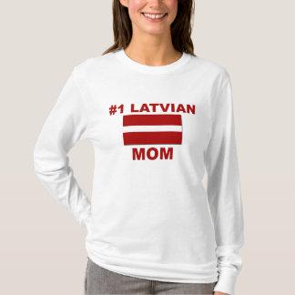 #1 Latvian Mom T-Shirt