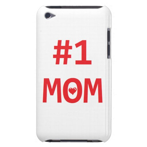 #1 Mom Barely There iPod Case