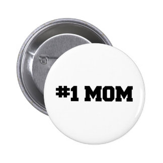 1 MOM Happy Mother s Day Number 1 Mom Pins