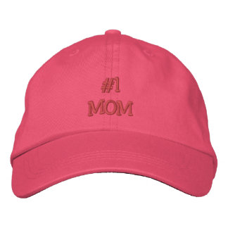 1 MOM-Mother s Day Birthday Embroidered Hat
