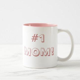#1 MOM! Two-Tone MUG