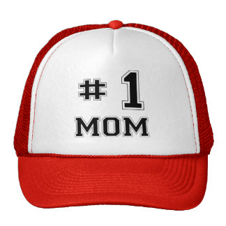 #1 Mom (Number One Mom) Cap