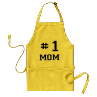 #1 Mom (Number One Mom) Standard Apron