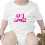 #1 Mum Baby Bodysuit